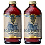 Portland Soda Works, Syrup Cocktail And Soda Root Beer (12 Fl Oz (Pack of 2))