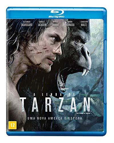 Lenda Tarzan Blu ray Vários Atores