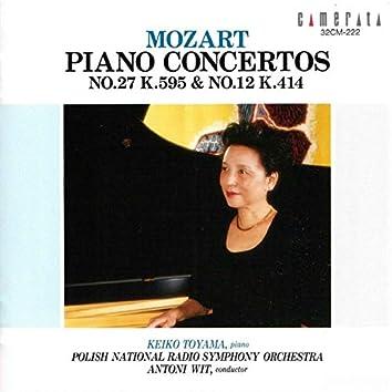 Mozart: Piano Concertos Nos. 27 & 12