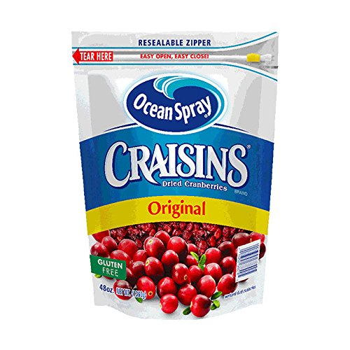 Ocean Spray Craisins Dried Cranberries 48 Oz 48 ozpack of 2