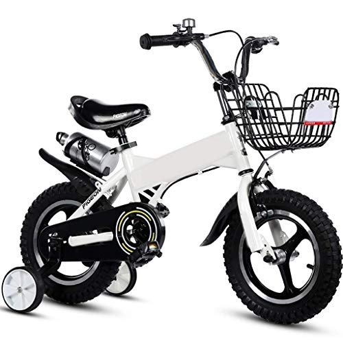 WZLJW Lquide niños Bicicleta 2-4-6 Años de Edad Niño Niña de Bicicletas de Ejercicio YCLIN Bicicletas ggsm (Color : 16in)