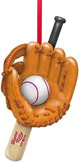 HMK Hallmark Baseball Tree Trimmer Ornament