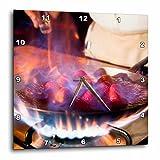 3dRose DPP_86663_1 Cuisine, La Madonna Restaurant, Cancun, Mexico - SA13 GJO0182 - Greg Johnston - Wall Clock, 10 by 10-Inch