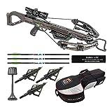 Killer Instinct Lethal 405 FPS Crossbow, Essentials Bundle (3 Items)