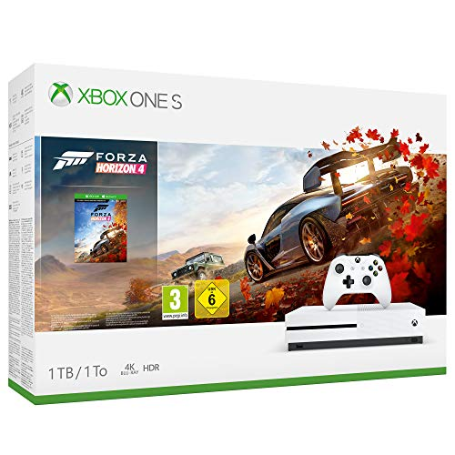 Xbox One S 1 TB + Forza Horizon 4 + 1 mese di Game Pass + 14 giorni di Live Gold