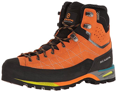 SCARPA Men's Zodiac TECH GTX Mountaineering Boot, Tonic, 11-11.5