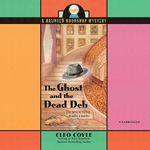 The Ghost and the Dead Deb audiobook cover art