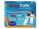 Easy Talk Blood Glucose Test Strips - 50 ea