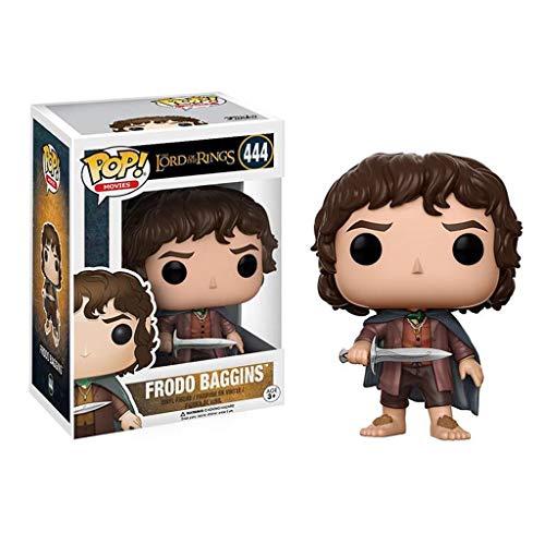 Luck7DZ Frodo Bolsón: Señor de los Anillos x Pop!PVC Estilo de la película Exquisita Figura Coleccionable, Multicolor - 3.9Inch