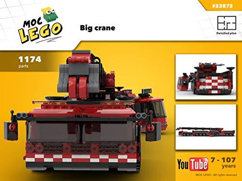 Big crane (Instruction Only): MOC LEGO (English Edition)