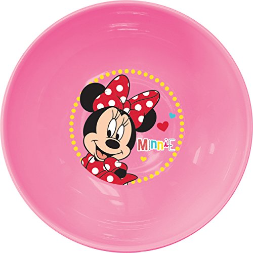 Ciao 33933 – Assiette Creuse Minnie Mouse Sassy, Rose
