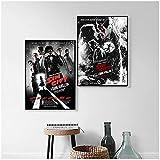 FRTTCYO Poster Wandkunst Filmplakat Sin City Poster