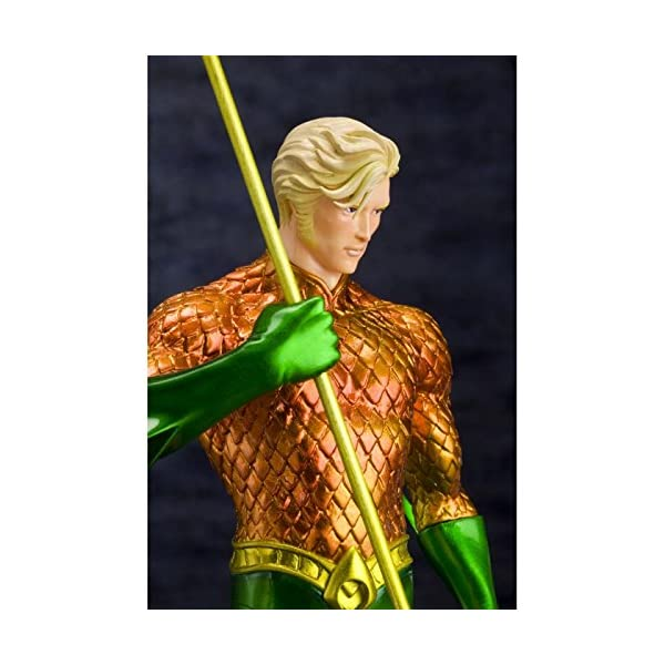 Kotobukiya DC Comics The New 52 Justice League Aquaman ARTFX Statue 3