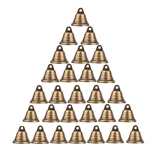 ART-Style 35 campanas de bronce vintage de 38 mm para hacer campanillas...