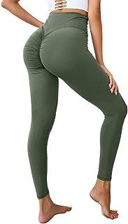Hioinieiy Scrunch Butt Workout Leggings for Women High Waisted Butt Lifting Womens Yoga Pants