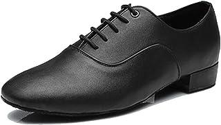 SWDZM Men's Boy's Dance Shoes Standard Latin,Salsa,Tango,Modern Ballroom Model 707B