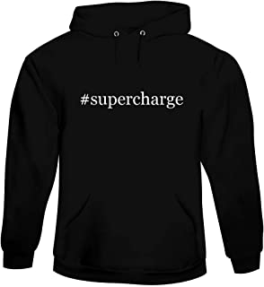 #supercharge - Men's Hashtag Hoodie Sweatshirt