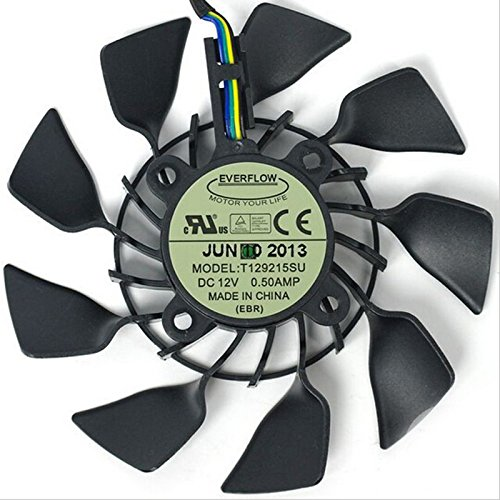T129215SU 12V 0.5A 95mm 4Pin Carte Graphique Fan Graphics Card Cooling Fan For ASUS GTX780/780TI R9 280X