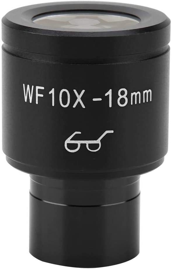 Yoidesu 0.9 Inch At the price Max 71% OFF 18mm WF10X for Eyepieces Wide Angle Lens