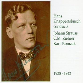Hans Knappertsbusch conducts