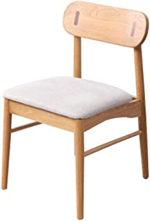 Lwieui Sillas de Comedor Moderna Minimalista Silla de Comedor Silla Respaldo for la Sala de Estar y Comedor Sillas de Comedor Cocina (Color : Soft Bag, Size : 51x46x78cm)