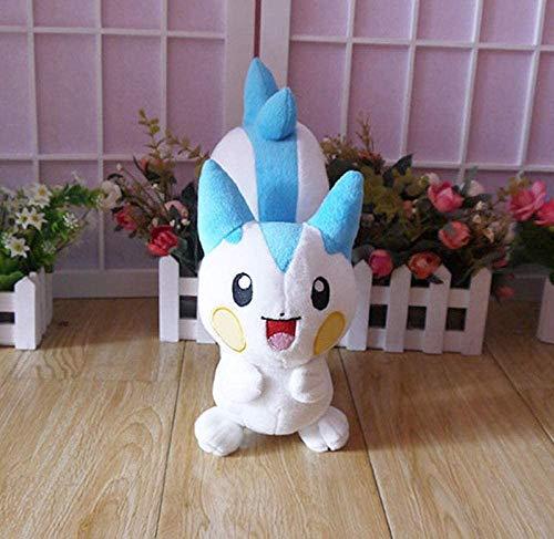 ADIE Peluche Anime Pachirisu Juguete Juguete Juego Ash Ketchum Squirrel Figuras Cosplay Muñeca 30 cm Almohada rellena 2 Estilos para Regalo