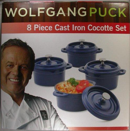 Wolfgangpuck Piece Cocotte Porclain Enamel