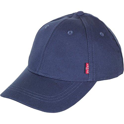 Levi\'s Herren Classic Twill RED TAB Baseball Cap, Blau (Navy Blue), one Size