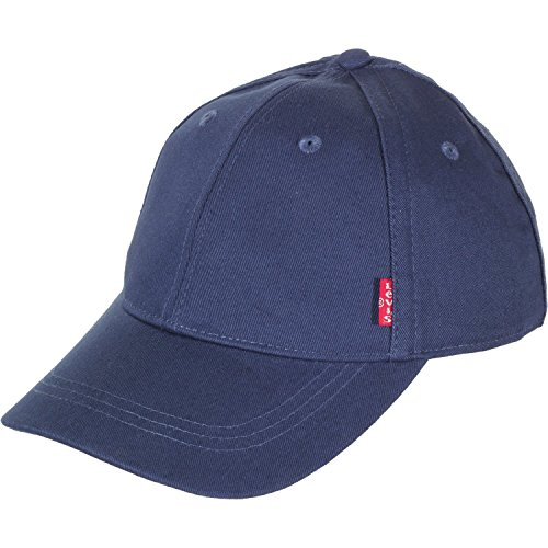 Levi's Herren Classic Twill RED TAB Baseball Cap, Blau (Navy Blue), one Size