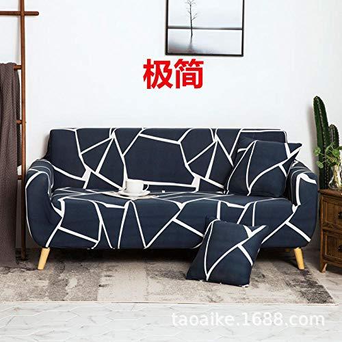 Bankovertrek, antislip, elastische bankovertrek, antislip lederen bekleding, overtrek voor bank 1234 zits, overtrek voor stoel met armleuningbekleding