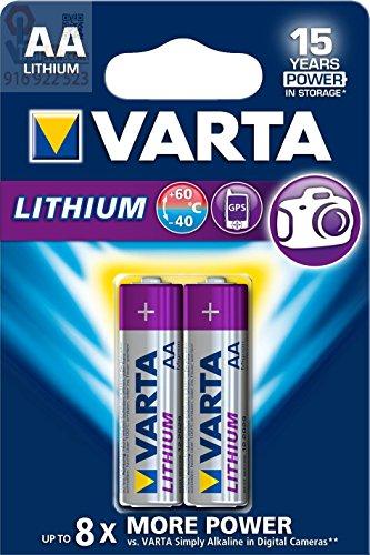 Varta Professional Lithium AA Batterie (1,5V, 2900mAh, 10x 2-er Blister)