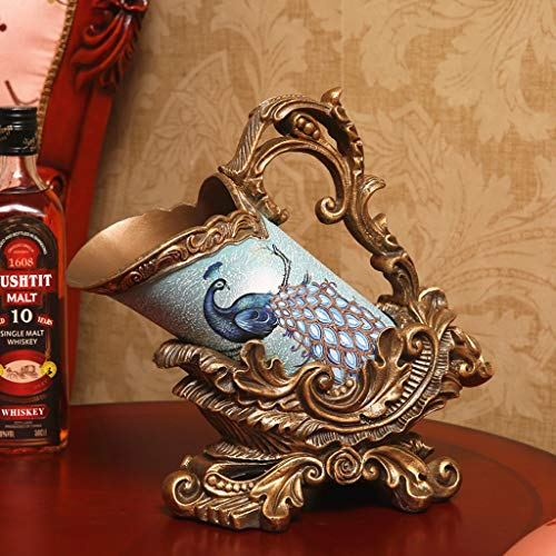 RENSLAT Ideas de Regalo Estilo Europeo Sala de Estar Gabinete de TV Gabinete de Vino Home Craft Decorations Wine Rack Ornaments American