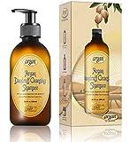 Vitamins Shampoing Antipelliculaire Professionnel à l' Huile d'argan. Traite Pellicule & Demangeaison du Cuir Chevelu (Tous cheveux)