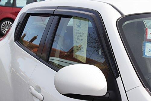 Deflectores de viento para Nissan Juke 2010-2019 (4 piezas),