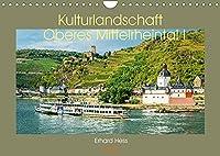 Kulturlandschaft Oberes Mittelrheintal I (Wandkalender 2022 DIN A4 quer): Das Unesco Welterbe Oberes Mittelrheintal von Bingen bis Boppard (Teil I) (Monatskalender, 14 Seiten )