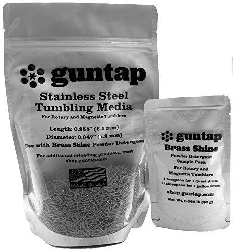 Stainless Steel Tumbling Media Pins - 0.047'...