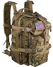 حقيبة الظهر التكتيكية العسكرية الصغيرة 30 لتر، حقيبة ظهر بتصميم العلم للاستخدام في الهواء الطلق
