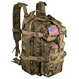 Best Tactical Backpacks - Small 30L Rucksack Military Tactical Backpack Flag Patch Review