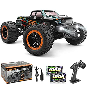 HAIBOXING 1 16 Scale RC Cars 16889 36Km/h High Speed Hobby Remote Control Car with 2.4GHz Radio Controller All Terrain Waterproof Off-Road RC Trucks with 2 Batteries for Kids and Adults