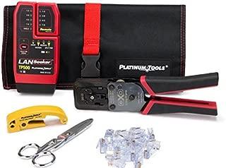Platinum Tools Exo Ezex-RJ45 Termination and Test Kit Box (90148)