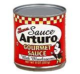 Arturo Original Gourmet Sauce with Mushrooms, 8-Ounce Cans (12-Pack)