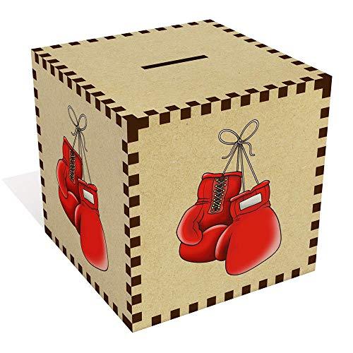 Azeeda Groß 'Boxhandschuhe' Sparbüchse / Spardose (MB00076130)