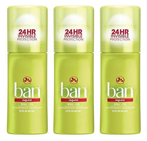 Ban Deodorant Roll-On Regular 1.5oz by Ban