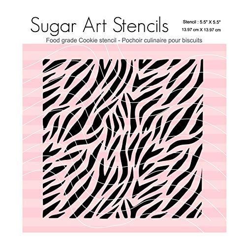 Zebra print Cookie stencil NB22271