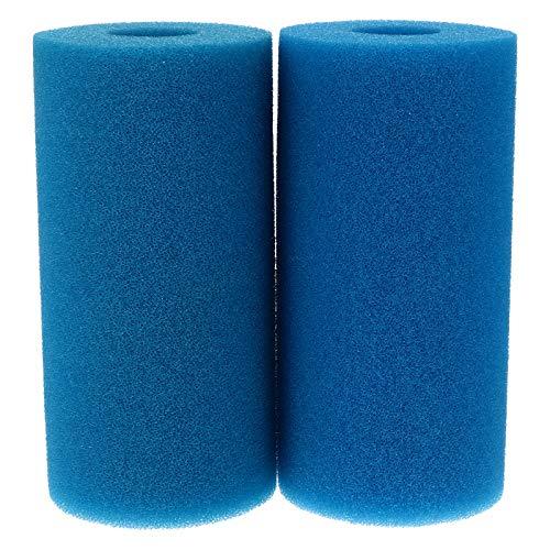 ABOOFAN 2 filtros reutilizables de la bomba de la piscina del filtro de la piscina de los cartuchos