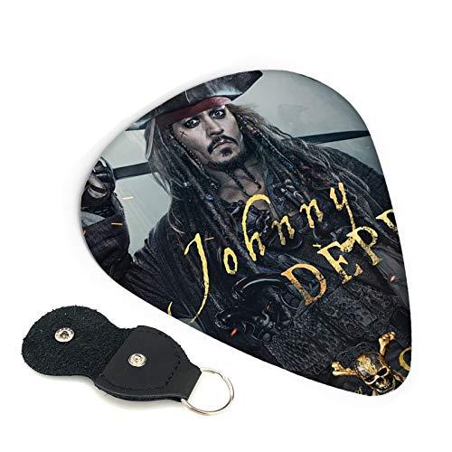 Púas de guitarra de Piratas del Caribe con soporte de púa...