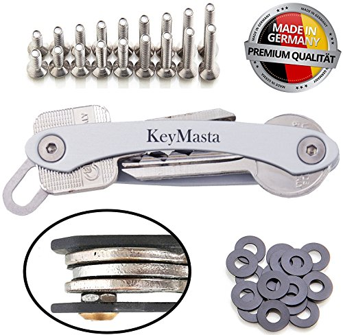 Key Organizer - MADE IN GERMANY - der Schlüssel Organizer mit Spezial Kontersystem, Keyorganiser bis 18 Schlüssel