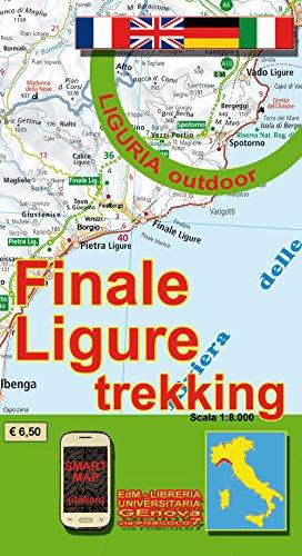 Finale Ligure Trekking Karte  1:8000: Liguria outdoor