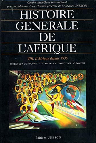 Āfrikas vispārējā vēsture, VIII sējums: Āfrika kopš 1935. gada (galvenais izdevums)