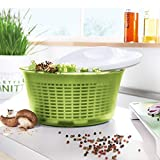 Zoom IMG-1 leifheit salad spinner signature contenitore
